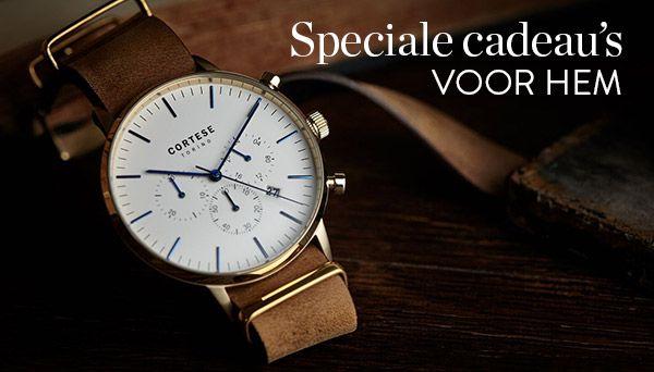 Waarom een horloge hét perfecte cadeau is voor mannen!