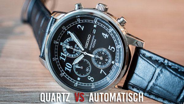 Quartz versus automatisch. Welk horloge past het beste bij jou en wat is het verschil?