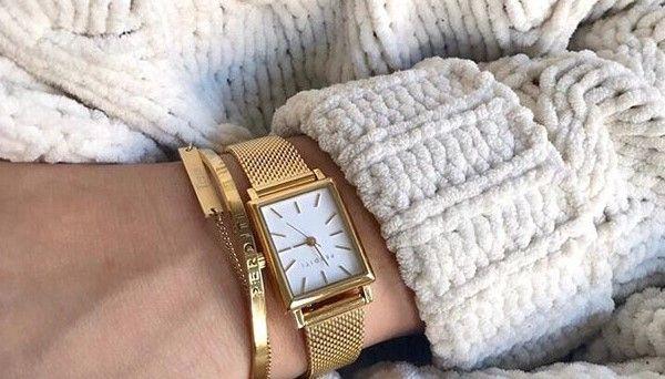 Trend: vierkante horloge