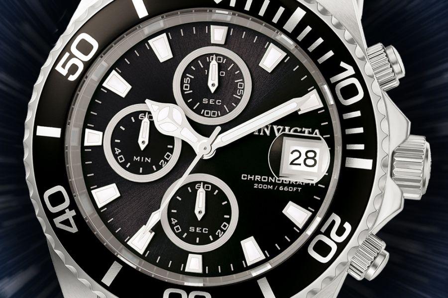 Invicta 1003 Pro Diver Chronograph