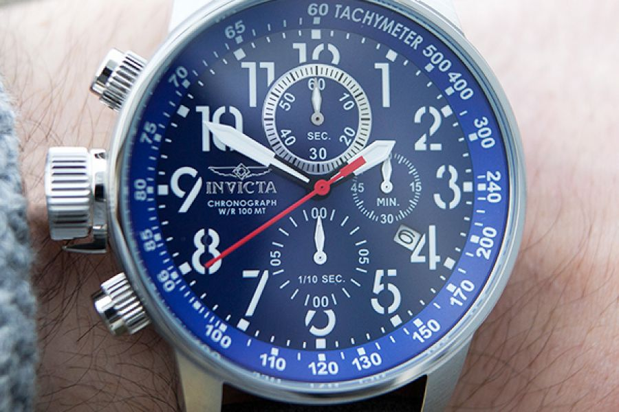Invicta I-Force Lefty Chronographs