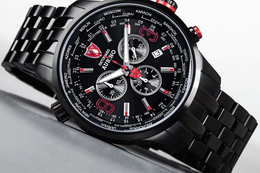 Detomaso Aurino GMT Chronographs | DT1061