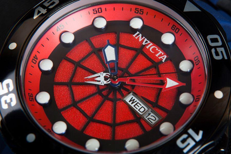 Invicta 48mm Marvel horloge 26008 (Spiderman)
