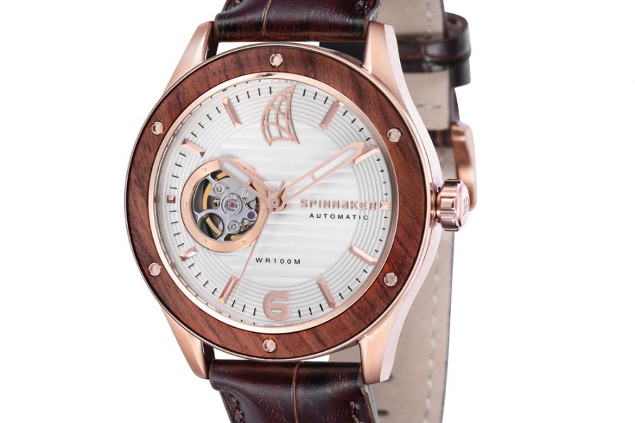 Refurbished - Spinnaker Sorrento Wood Automatic | SP-5034-02