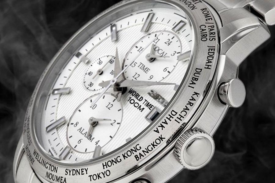 SEIKO SPL047P1 World Time Chronograph