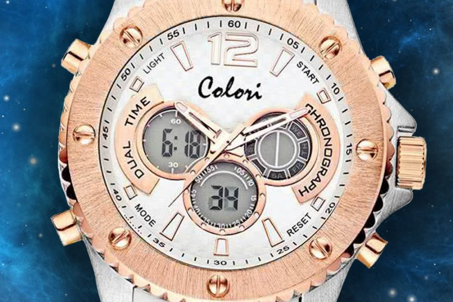 Colori Anadigi Continental XL Chronographs | 5-CLD106 5-CLD107 5-CLD108