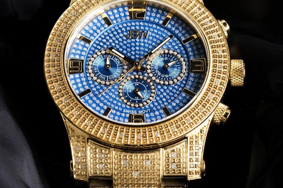 JBW Lynx Diamonds XL Swiss Quartz | J6336