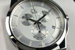Calvin Klein Silver Dart 'Swiss Made' Chronograph | K2S371D6-100685504