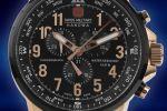 Swiss Military Hanowa 46mm Leather Chronograph met gratis verzending | 06-4297.09.007-100688259
