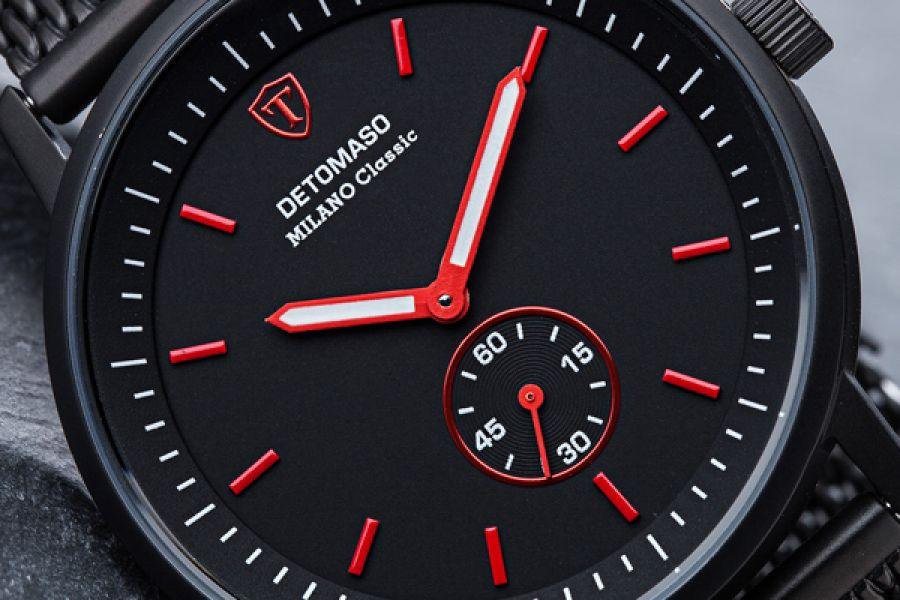 Detomaso Classic Milano Swiss Made