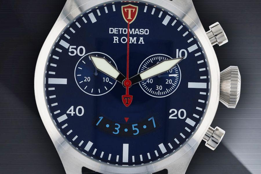 Detomaso Roma Chronographs DT-1079-A,B,C