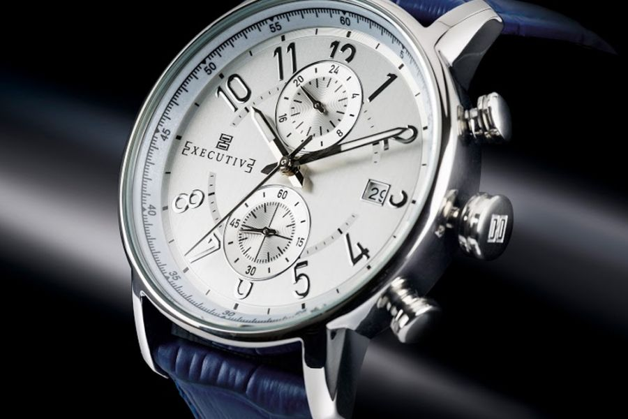 Executive Trench Dual Time | EX-1008