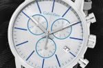 Calvin Klein 'Swiss Made' Chronograph met zonnebril | K2G271Q4 + CKJ152S 002 58 + CKJ151S 422-100694254