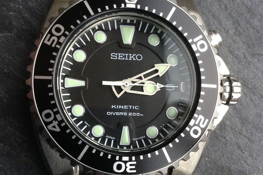 Seiko Prospex Kinetic Divers