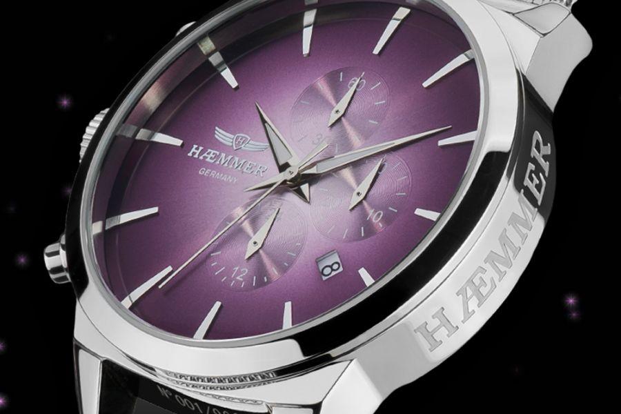 Haemmer Infinica mesh chronographs