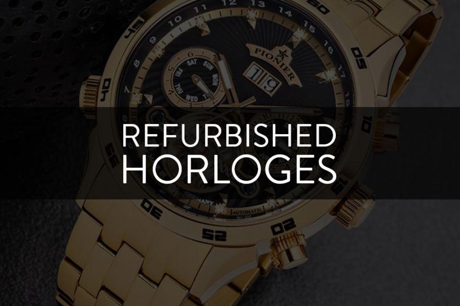 SPECIAL Voorraad opruiming!: Refurbished horloges