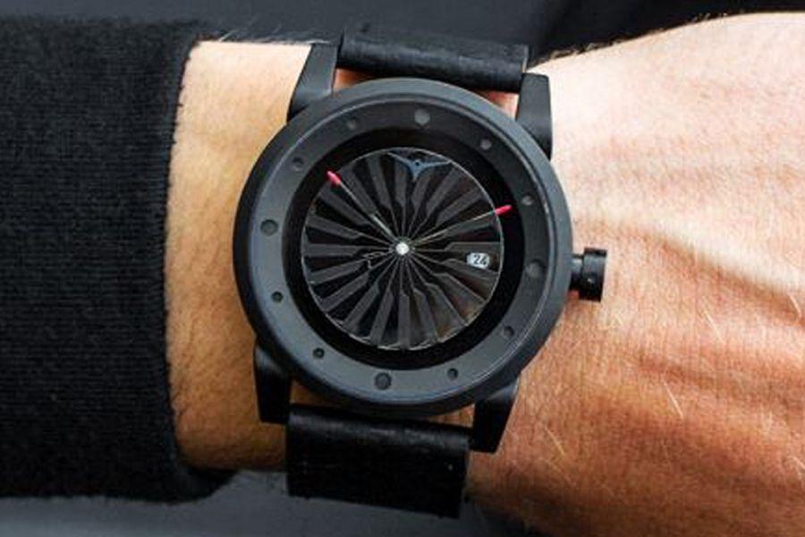 Zinvo Blade Phantom Rotating Turbine Automatic optioneel met Zinvo Chronograph Black