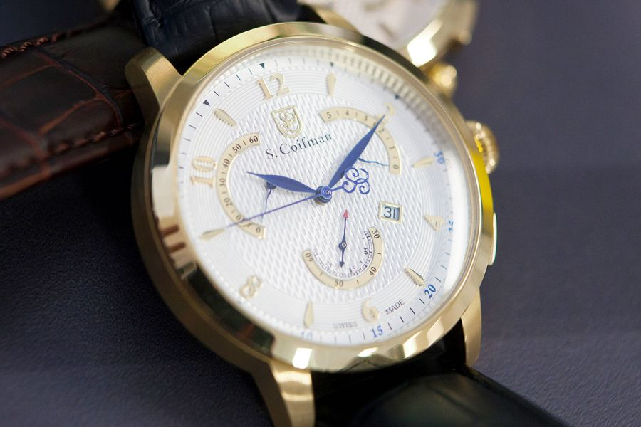 S. Coifman Heritage Swiss Made Chronograaf