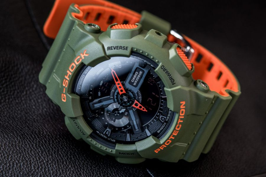 Casio G-Shock Neon Chronographs