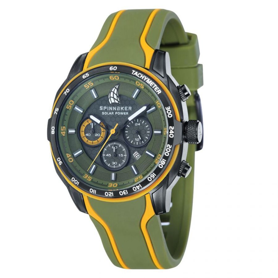 Spinnaker Del Sol Solar Power Chronograph | SP-5031-04