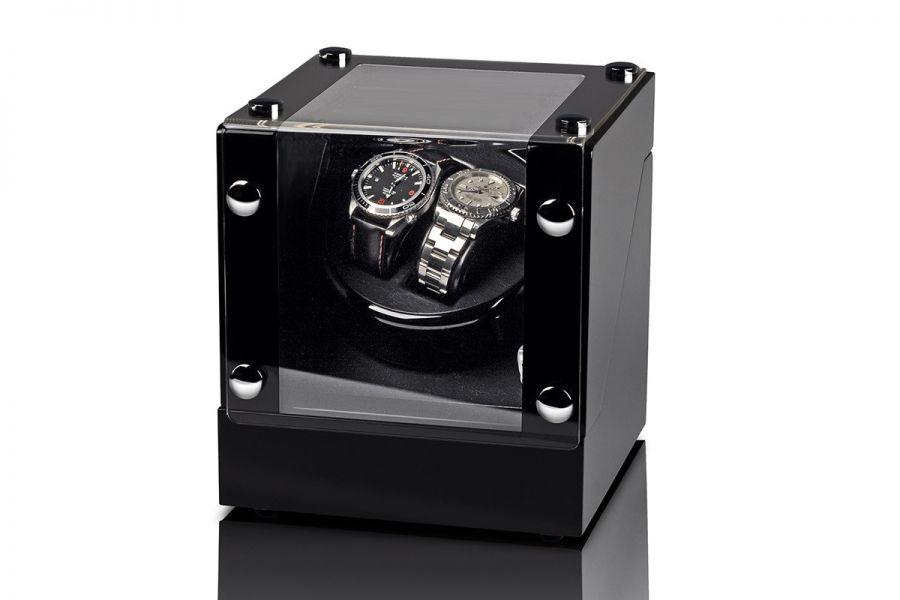 Rothenschild luxe watchwinders Bergamo - voor 2 horloges | RS-2038-BK