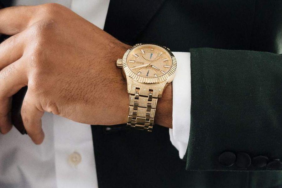 JBW Crowne 50 Diamonds Horloges