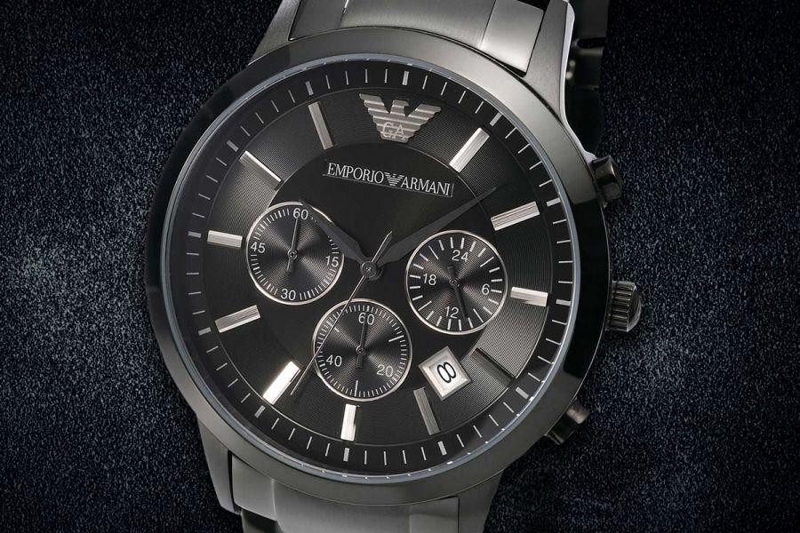 Emporio Armani Chronograph met GRATIS horlogetool en GRATIS verzending | AR2453
