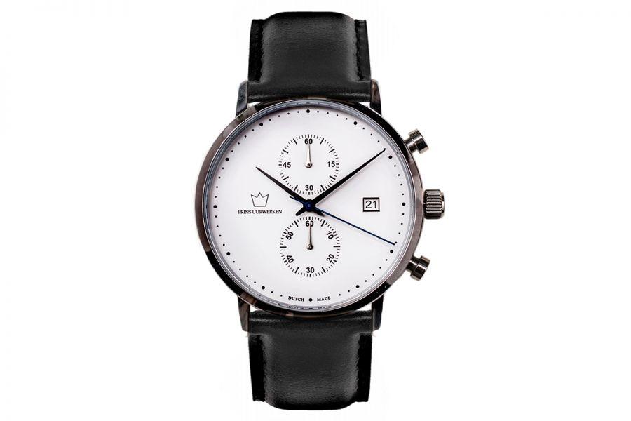 Prins Uurwerken Chronographs | Zwart