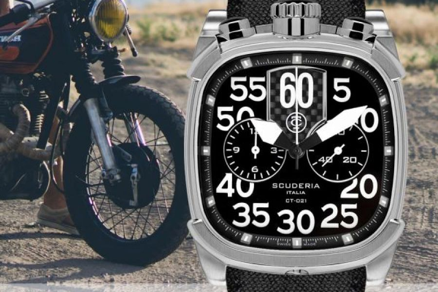 Refurbished CT Scuderia Scrambler Swiss Made Chronographs