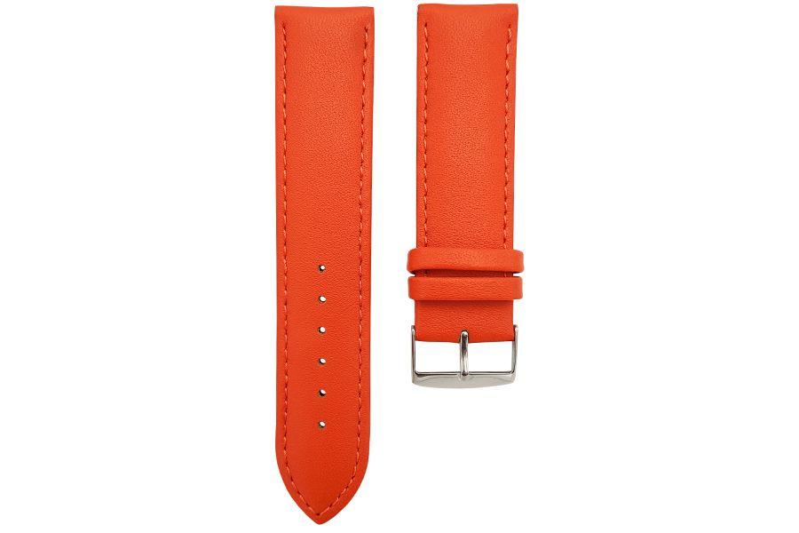 Strap van soepel runderleer   Oranje CP000302