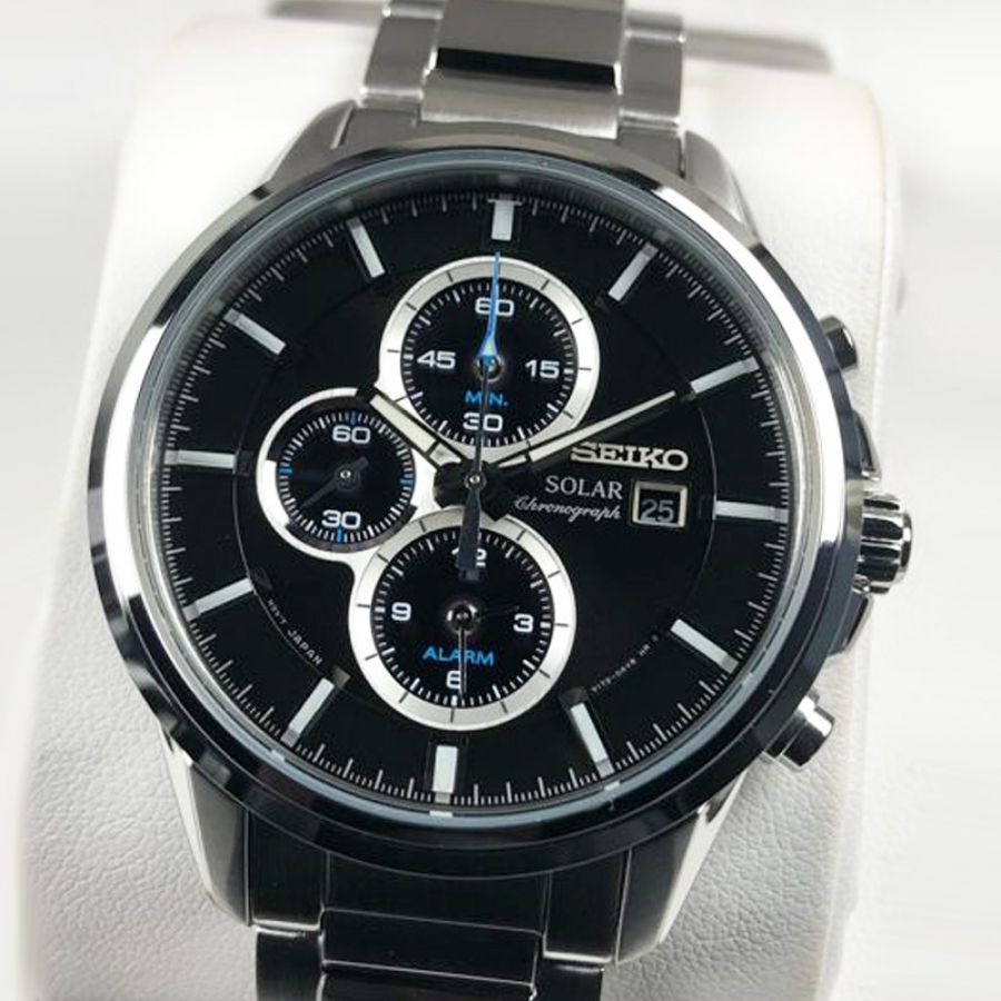 Seiko Gents Solar Powered Chronograph | SSC267P9