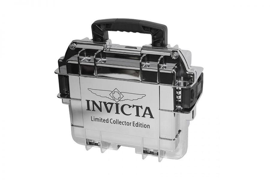 Invicta Dive Case 3 Slot Mirror, Silver Limited Edition | DC3MIRROR
