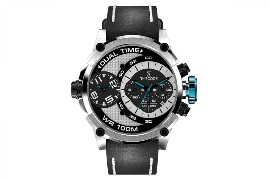 Timecode Marconi Dual Time Chronographs