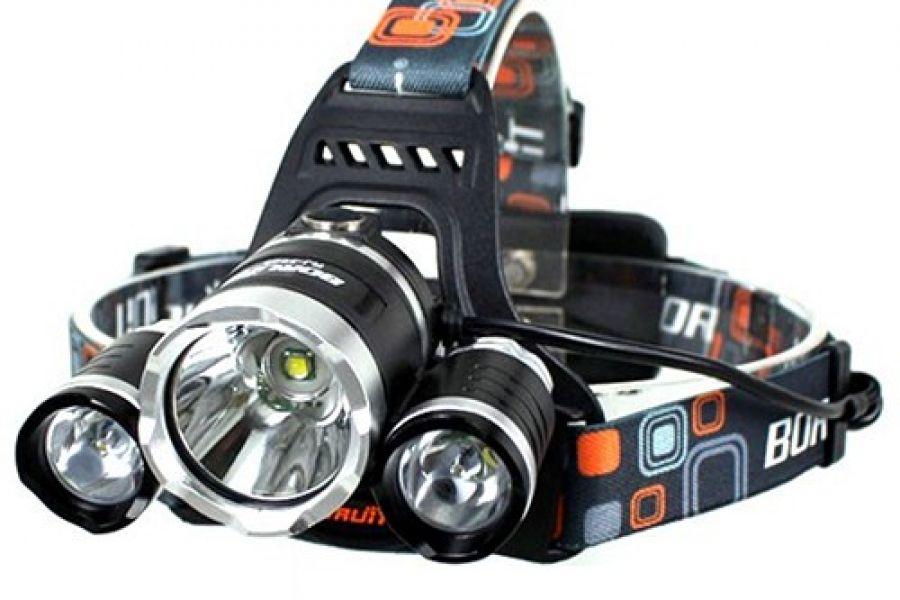 Extreem krachtige LED hoofdlamp - 3000 LUMEN