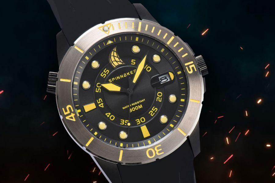 Spinnaker Helium Duikhorloge | SP-5005-17