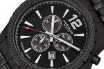Akribos XXIV Swiss Chronograph Duopack met gratis travelcase | AK662BK + AK662SSB-100708507