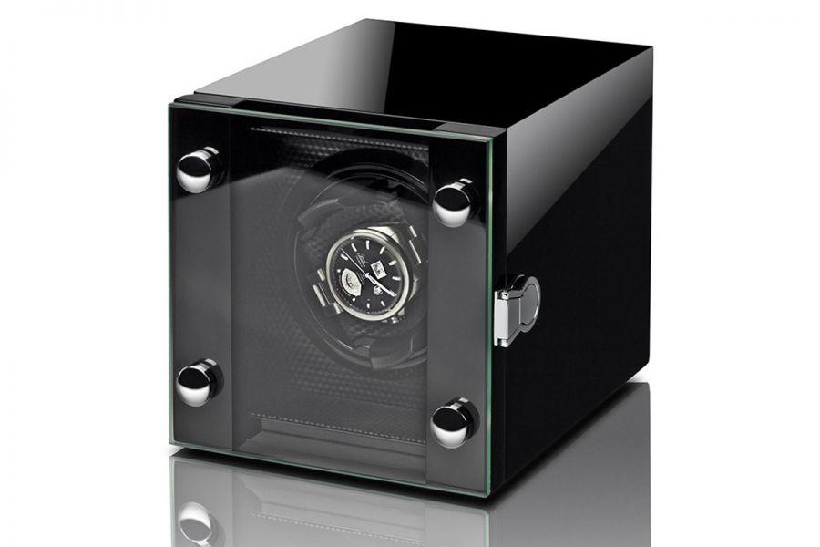 Rothenschild hoogwaardige watchwinder Chicago voor één horloge | RS-2099-BK