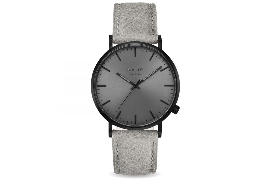 Kane Watches | Black out - Urban grey