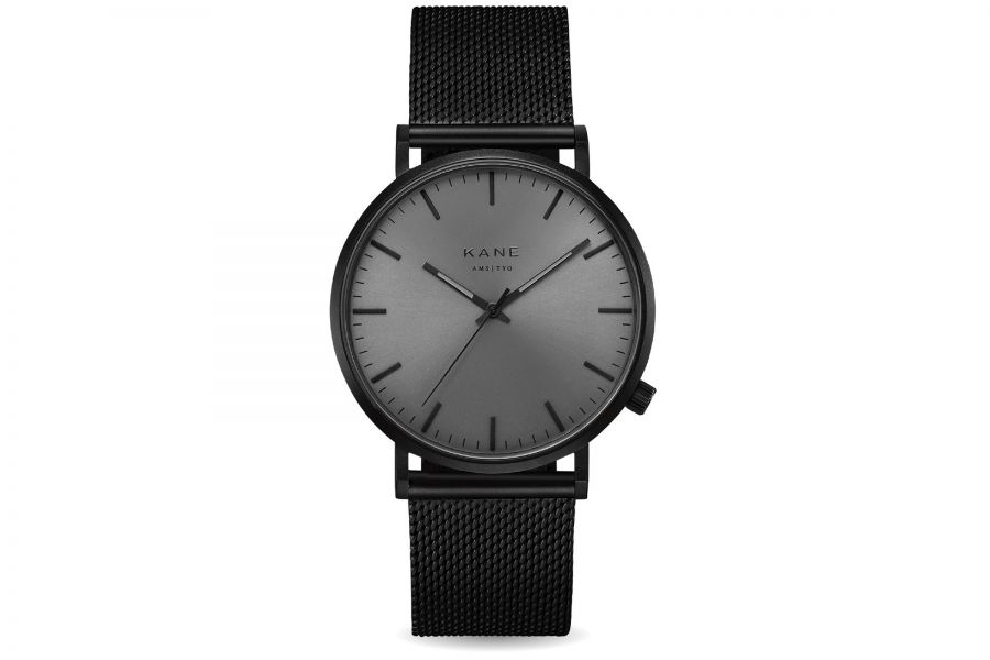 Kane Watches | Black out - Black mesh