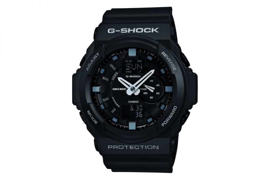 Refurbished Casio G-Shock Black Chronograph | GA-150-1AER