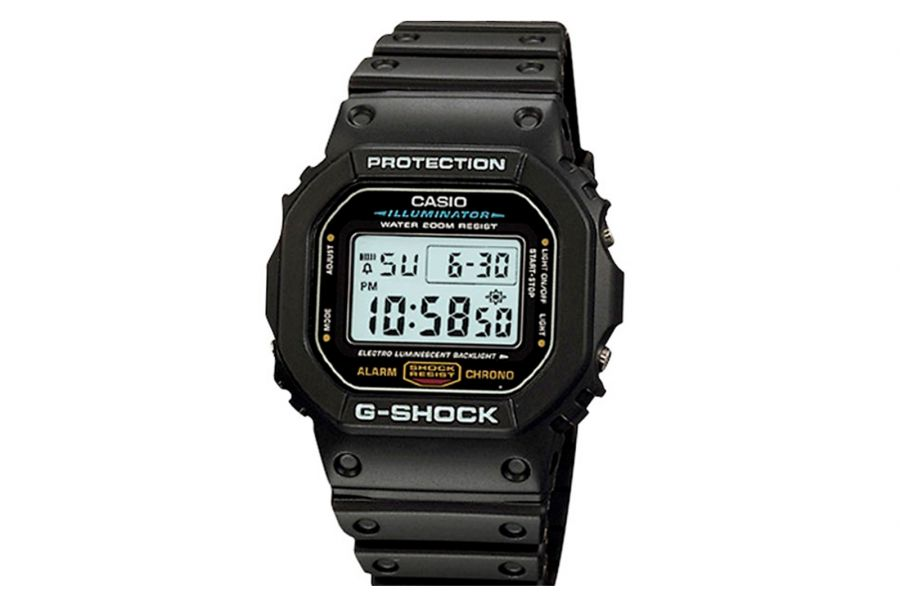 NASA Certified Casio G-shock Multifunctional | DW-5600E-1V