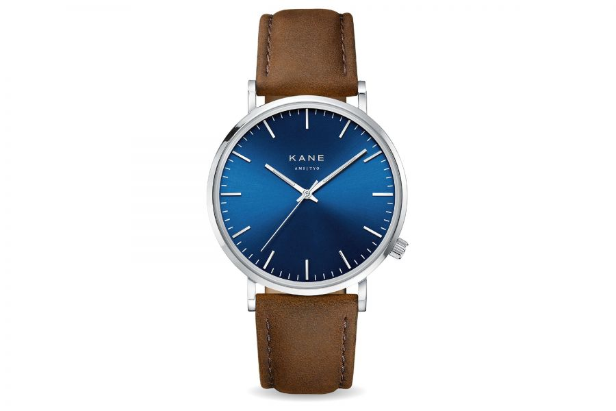 Kane Watches | Blue Artic Vintage Brown