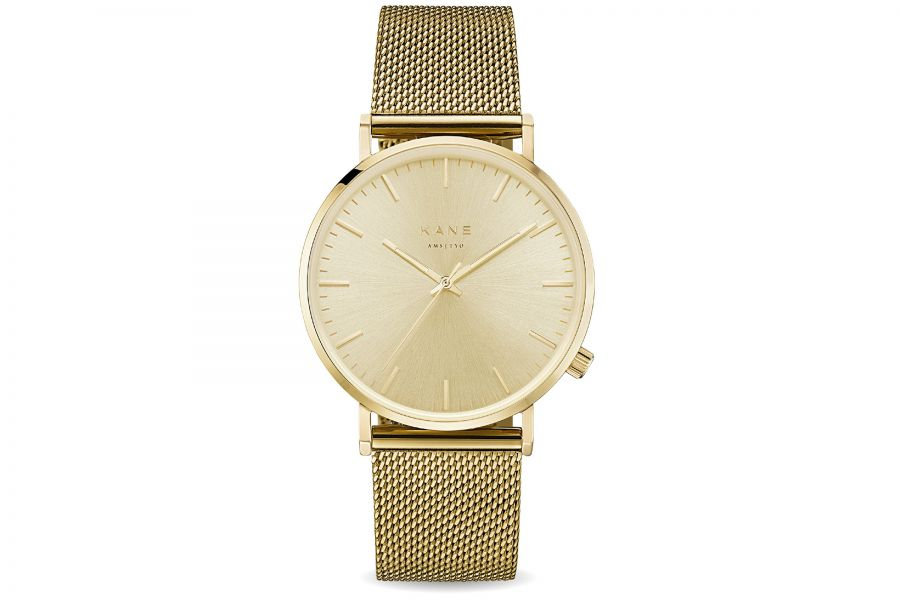 Kane Watches | Gold Rush Gold Mesh