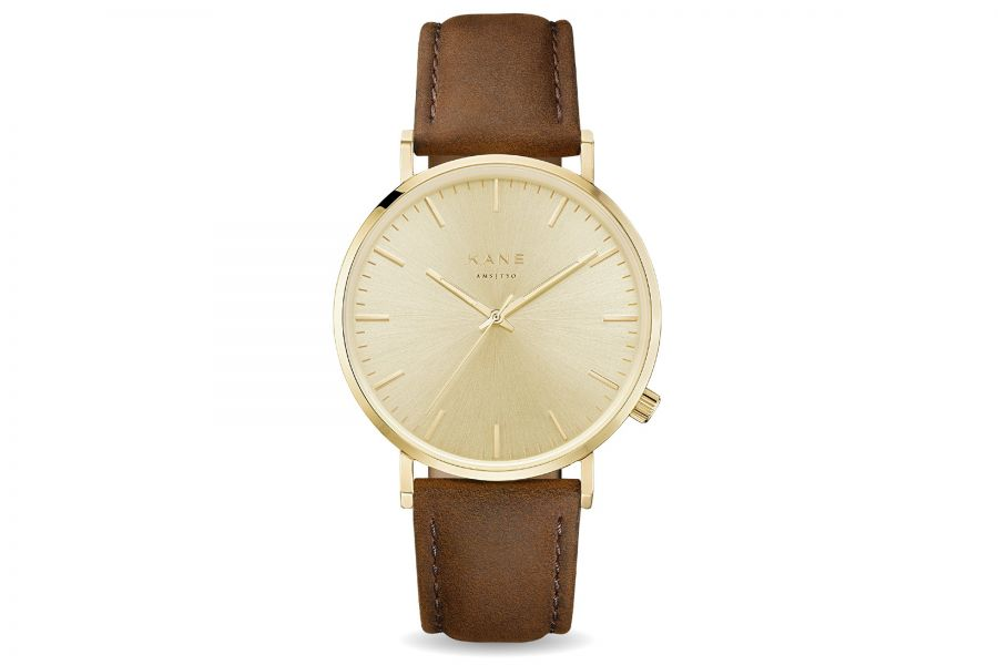 Kane Watches | Gold Rush Vintage Brown