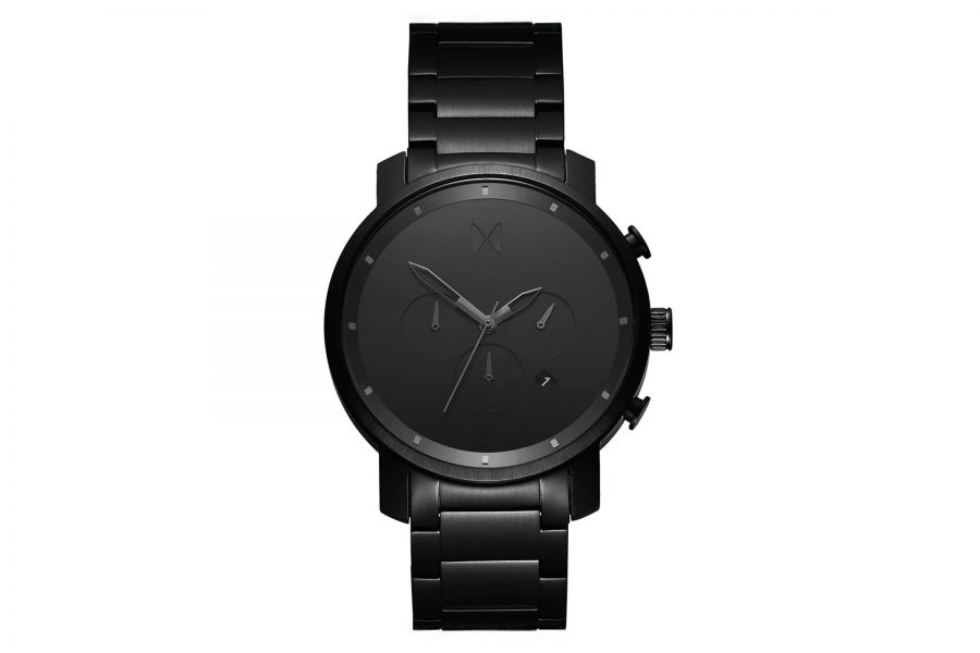 MVMT Chrono 45mm Black Link D-MC01BB