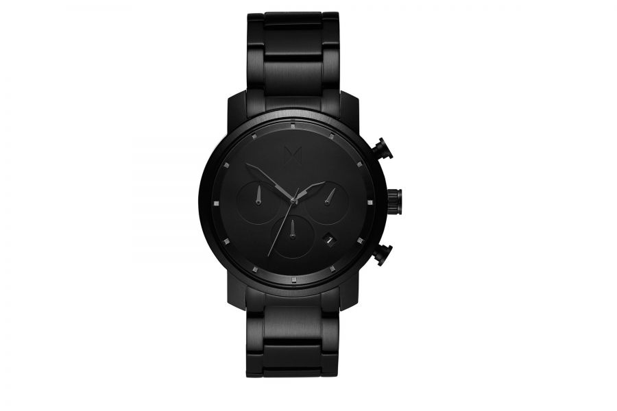 MVMT Chrono 40mm Black Link D-MC02-BB