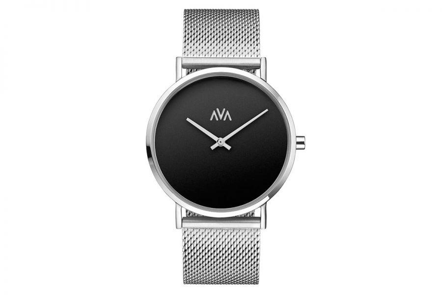 AVA Mani Limited Edition | Silver Svart