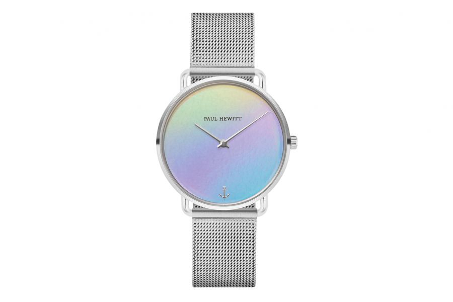 Paul Hewitt PH Miss Ocean Holo Silver SS Mesh Strap Silver 33mm PH-M-S-H-4S