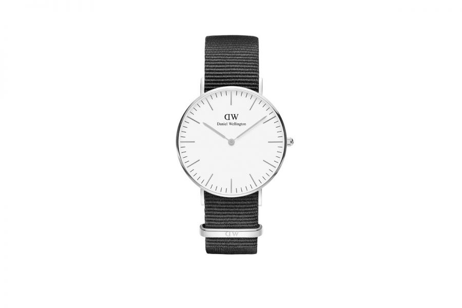 Classic White Cornwall Silver 36mm DW00100260