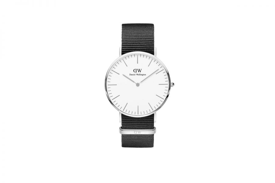 Classic White Cornwall Silver 40mm DW00100258